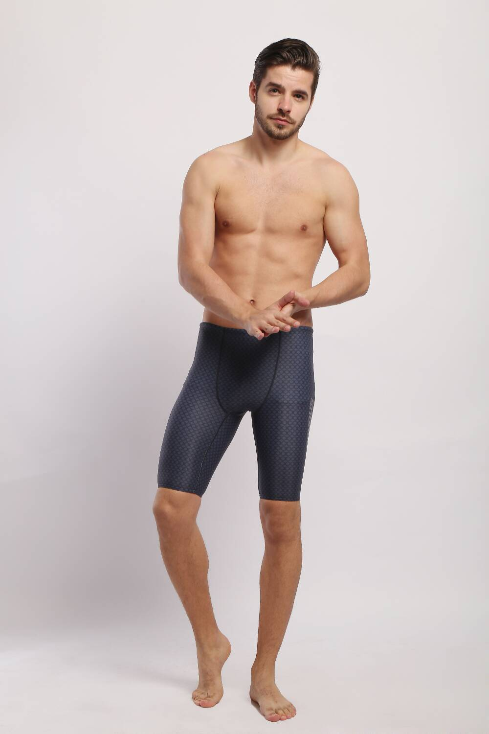 Men swim trunk and swim jammers